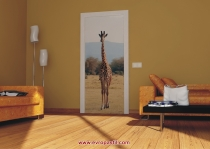 фототапет жираф в цял ръст