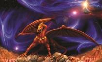 фото тапет мистичен дракон