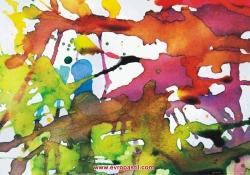 фототапет арт пано цветно