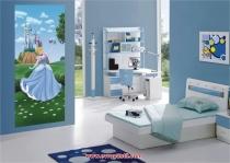 фототапети синя принцеса