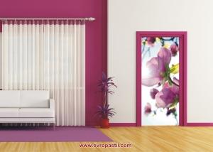 фототапет розов пролетен цвят