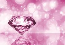 фототапет розов диамант