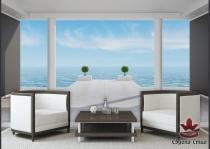 фототапети панорама 3д море