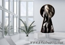 фототапет гол женски силует