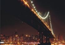 фототапети-мост нощем