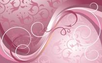 фототапет розова абстракция