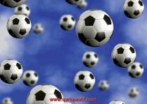 фототапети летяши топки