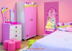 фототапет детски принцеси в розово