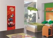 фото тапети колата маккуин в червено