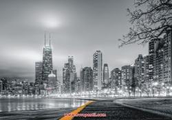 фото тапет градски нощен изглед