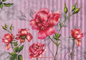 фото тапет розова роза