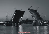 фото-тапет подвижен мост черен