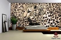 стена ефект леопард