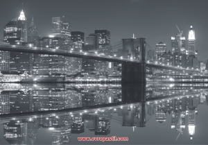 фото тапет бруклин мост огледален образ